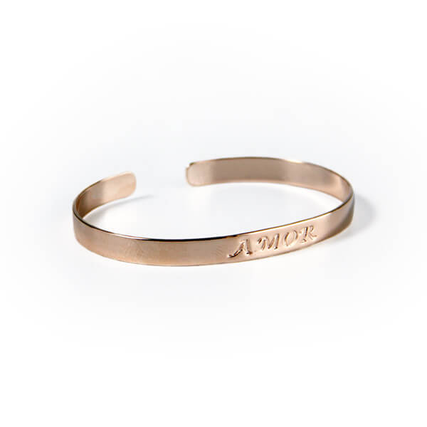 Bracelete-Metal-na-Cor-Rose-–-Amor