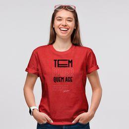 Camiseta-Tem-poder-quem-age-Vermelha-Feminina