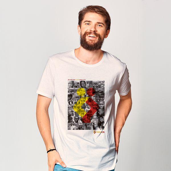 Loja-Febracis-Camiseta-Haiti-Branca